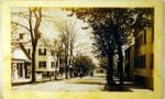 Antique Nantucket original photograph of Broad Street