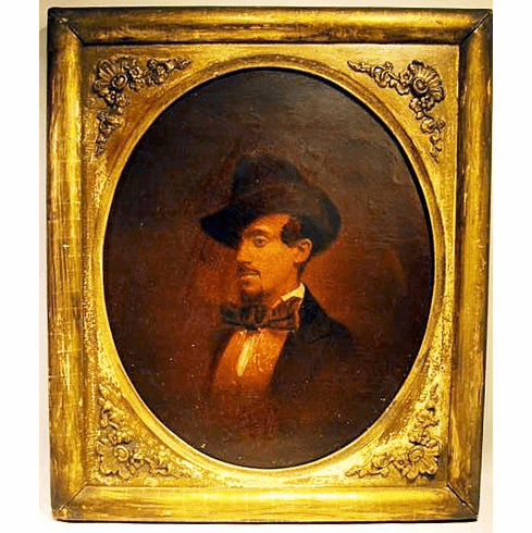 Antique selfportrait of Charles Furneaux 1870