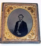 Antique TIN TYPE  dated 1861