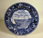 Antique Wedgwood souvenir Nantucket plate