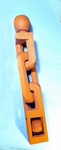 Carved one-piece wooden sailor's whimsey