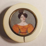 Early 19th Century ivory snuff box