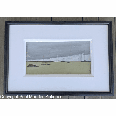 Low Beach / Loran Station Nantucket Painting by John Austin