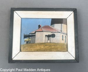 Point Judith Lighthouse by Nantucket Artist John Austin
