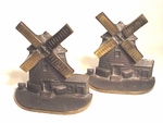 Pair of  Cape Cod windmill bookends