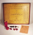 "Rare American antique parlor game "" American Base Ball Co""."