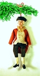 Rare antique George Washington Christmas ornament