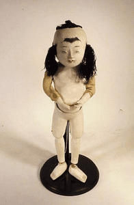 Rare antique Japanese doll with Nantucket history