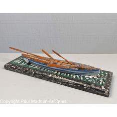 Vintage Model of Whaleboat by Nantucket Whaler Capt. George Grant