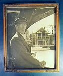 Vintage photograph of Capt. Adams, Nantucket caz.1930's