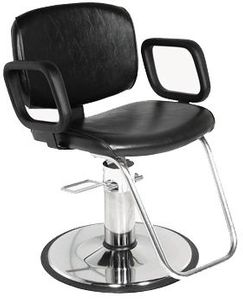 Collins QSE 1800 Hydraulic Styling Chair w/ Std Base