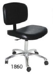 Collins QSE 1860 Manicure Stool w/ gas lift & casters