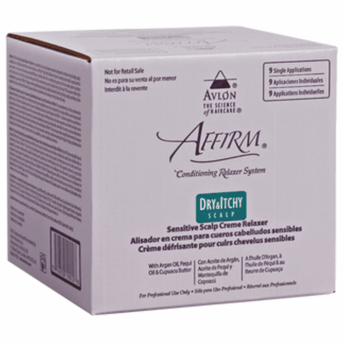 Affirm: Dry & Itchy Scalp  Relaxer (9 Pack)