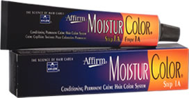 Affirm: MoisturColor Conditioning Permanent Creme Hair Color (Step 1A) •