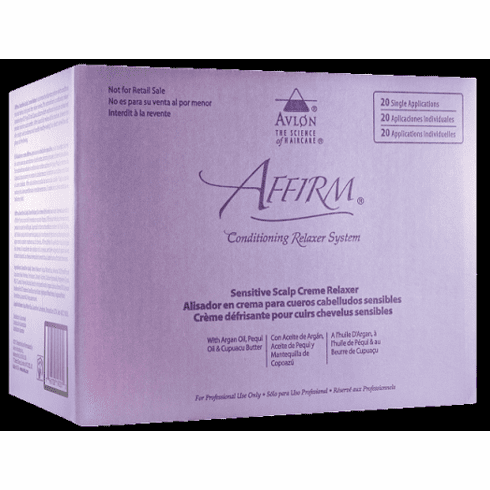 Affirm Sensitive Scalp Creme Relaxer  (Step 2)-20-Pack