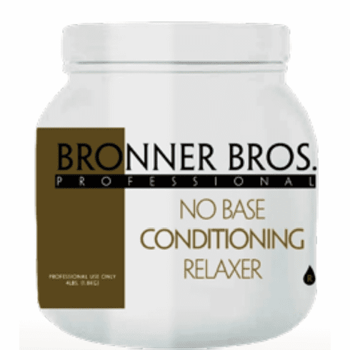 Bronner Bros. Professional No Base Conditioning Relaxer 4LB