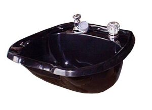Collins  #4000 MP Cultured Marble  Shampoo Bowl w/ #500 Fixtures