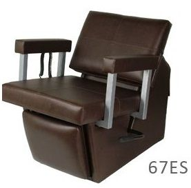 Collins 6750L Quarta Shampoo Chair w/ Kickout Legrest