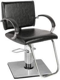 Collins 7400X Octave Hydraulic Styling Chair w/ 20-20 Square Base
