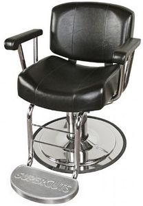Collins 9030.SC Continental Hydraulic Styling Chair w/ Supercuts LOGO footrest