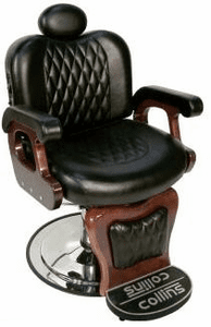 Collins 9050 Commander I Barber Chair Wallaby-Black