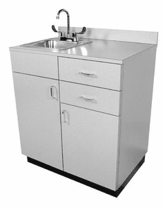 Collins  927-32 Small Private Room Vanity w/Sink