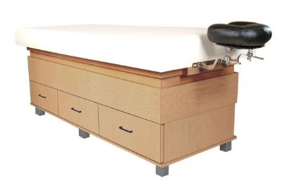 Collins  Amati Massage Table w/ Patented Face Support and Six Drawers 949-75