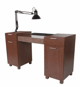 Collins  Amati Nail Table w/ Lamp & Pad 948-57