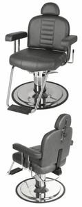 Collins Charger Barber Chair w/ HD Base & Headrest  8060