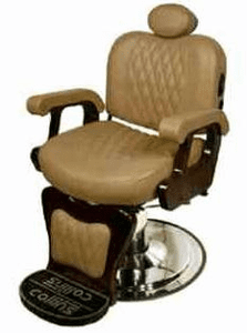Collins: Commander I Barber Chair #9050 Wallaby-Camel