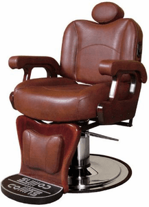 Collins Commander II Barber Chair in Leather #9070