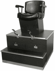Collins Continental Shoe Shine Stand #9040