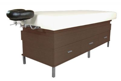 Collins: Enova Massage Table w/ Patented Face Support & Six Drawers 975-75