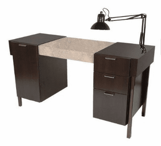 Collins  Enova Nail Table w/ Lamp & Padded Rest 974-54