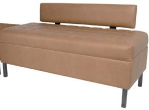 Collins Enova Waiting Bench with Lumbar Back Support  955-50