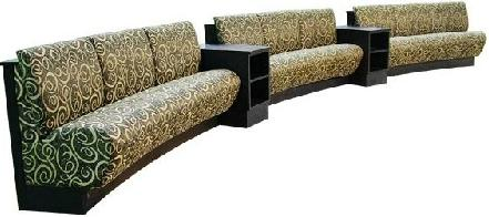 Collins Fifth Avenue Custom Lanai Reception Area Benches 57283.4.
