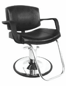 Collins: Magnum XL Hydraulic Styling Chair w/ Polsihed Chrome Base 8260