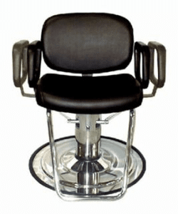 Collins  Maxi Hydraulic Styling Chair  w/ Telescoping Arms #9400