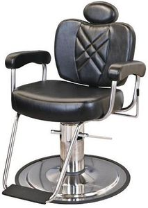 Collins Metro Barber Chair w/ Heavy Duty Base 8070