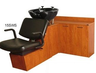 Collins Kiva 16BWS Backwash Shuttle Shampoo w/ CB87 Bowl