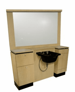 Collins: QSEp Barber  Wet Booth Unit 4425-72