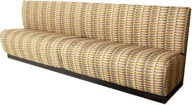 Collins  Reception Sofa with customer-furnished uphosltery material  69788.11