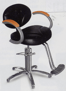 Collins  Silhouette Hydraulic Styling Chair #9100S w/ Slim Star Base
