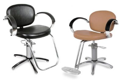 Collins   Valenti Hydraulic Styling Chair w/ SlimStar Base 1300S