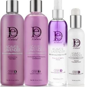 Design Essentials Agave & Lavender Blow Dry & Silk Press Collection