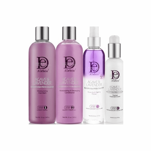 Design Essentials Agave & Lavender Blow Dry & Silk Press Collection (Package Deal)