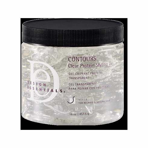 Design Essentials Concours Clear Protein Styling Gel 16 fl.oz