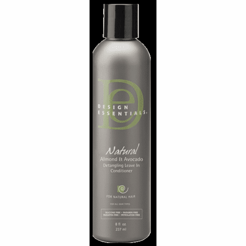 Design Essentials Natural Almond and Avocado Detangling Leave-In Conditioner 8 fl.oz
