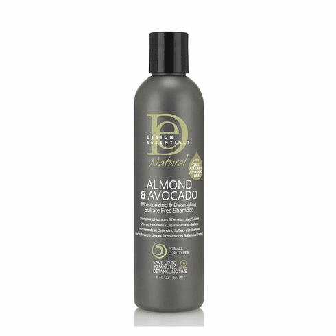Design Essentials Natural Almond & Avocado Sulfate Free Shampoo 8 fl.oz