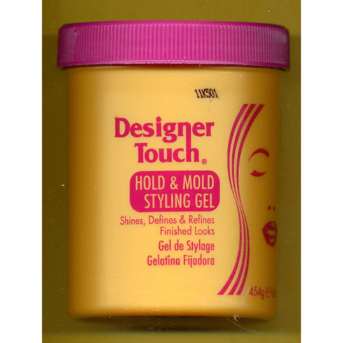 Designer Touch:   Hold & Mold Styling Gel 16oz